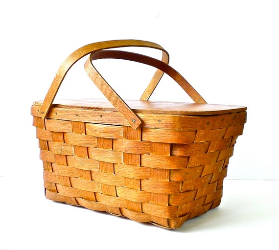 Peterboro Basket Company Picnic Hamper