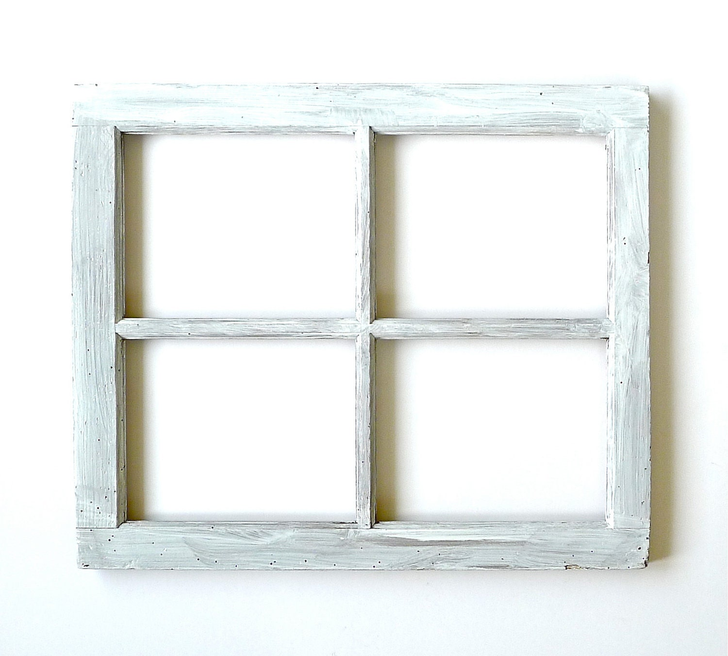 four pane wood window frame zoom