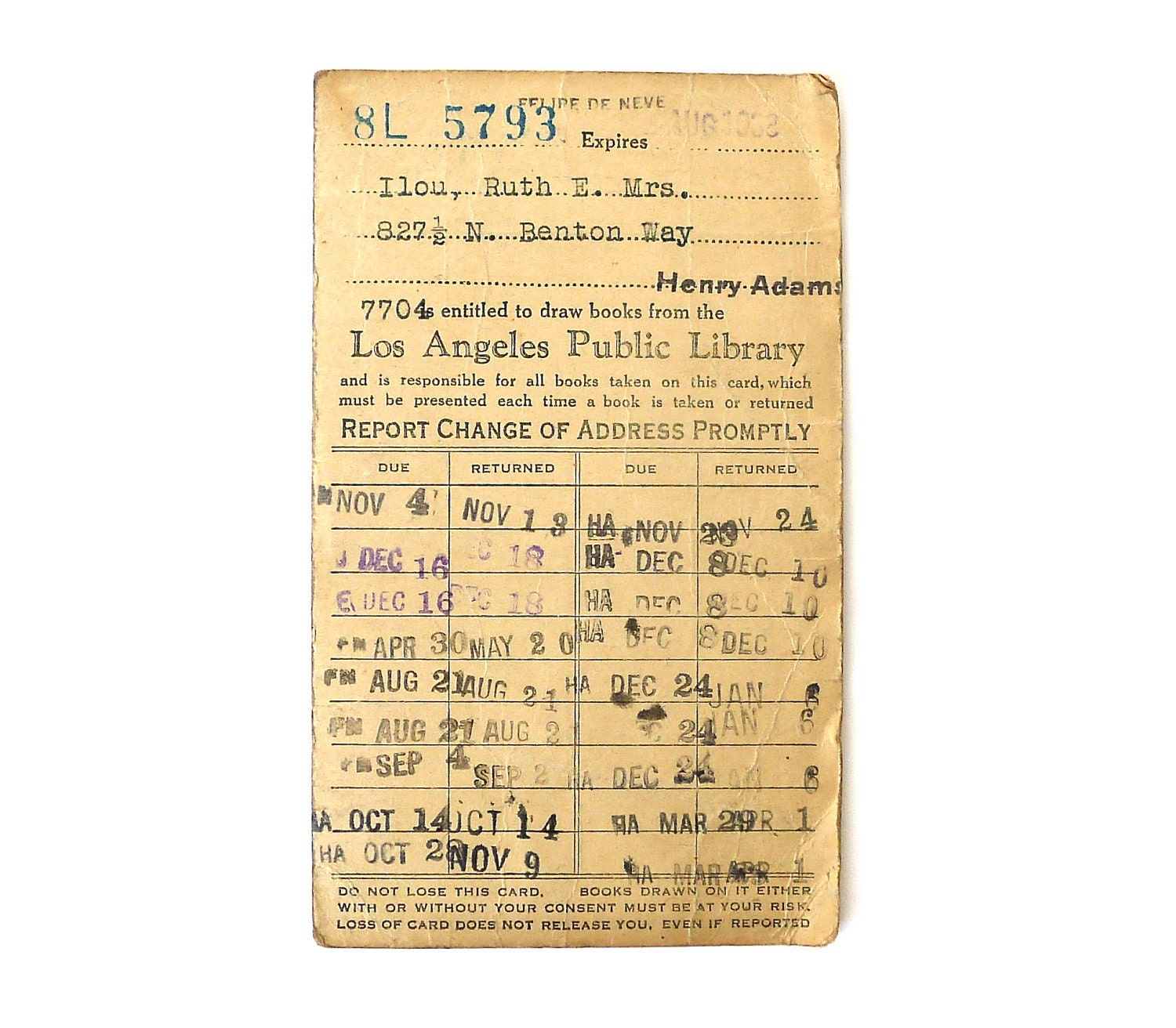 vintage card catalog cards Google Search