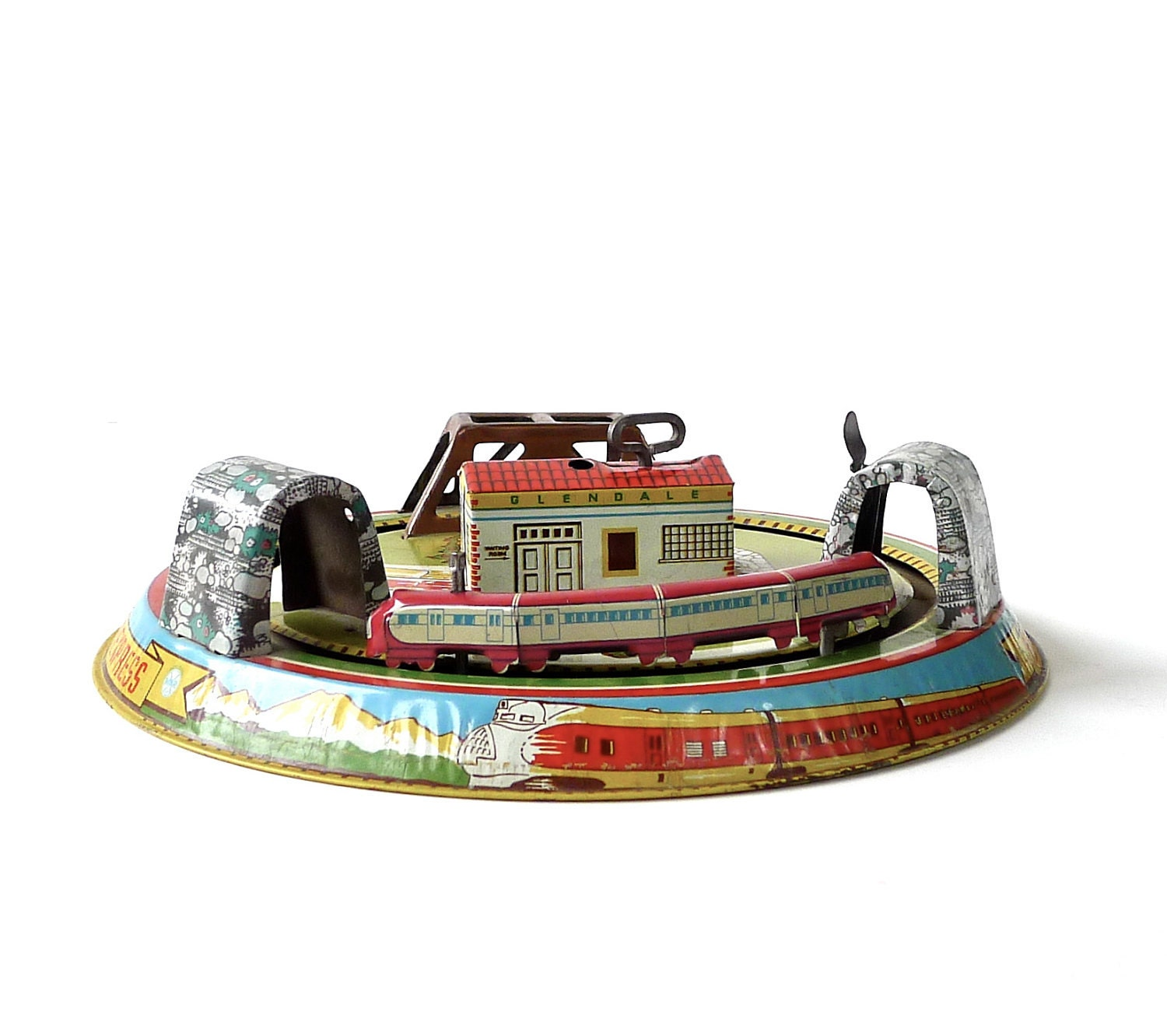 Toys For The Honeymoon : Marx tin toy honeymoon express by marybethhale on etsy