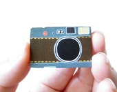 Leica Camera Brooch