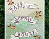 Scenic Route 8x10 print