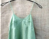 Ordering On Holdvintage inspired linen slip dress custom made in cypress or pale green bayou boho  s m l xl xxl and plus