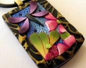 Dragonfly Garden Pendant Necklace