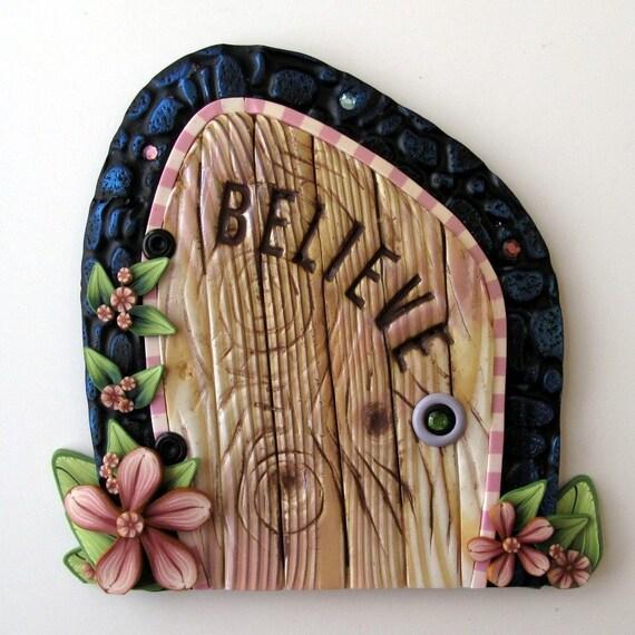 Tooth fairy believe fairy door for Tooth fairy door