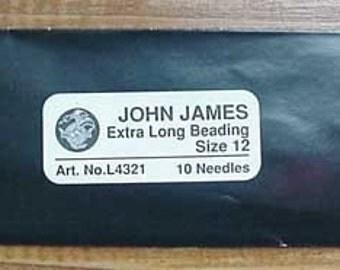 Loom Beading Needles Longs 10 Pack Best For Loom Beading
