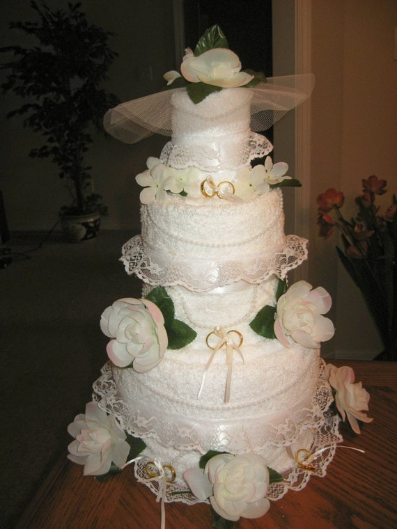 towel wedding cakes towel wedding cake by dbayou18 on etsy 21113