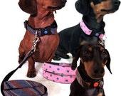 Eco Pet Collar - Silk Necktie - Create Your Own