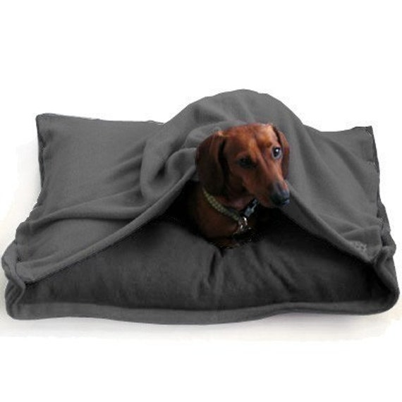 Eco Pet Bed - Recycled Grey Fleece