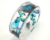 Blue Butterflies Bracelet