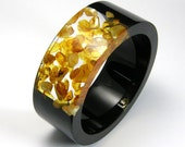 Resin and Amber Bangle model 1/4