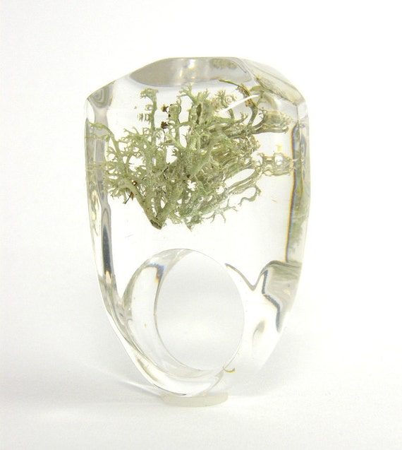 Silver  MOSS Ring