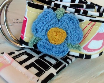 Half Price Sale Boutique Toddler Flower Power Belt Yellow, Black and White