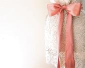 Coral Bridal sash, Wedding belt, Bridal belt, Silk sash, Bridesmaid sash, Belts and Sashes, Ivory wedding sash, Sash belt, Flower girl