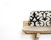 black velvet damask fall fashion formal clutch