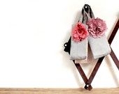 silk flower wristlet clutch, bridesmaid gifts, perfect for your flower girl
