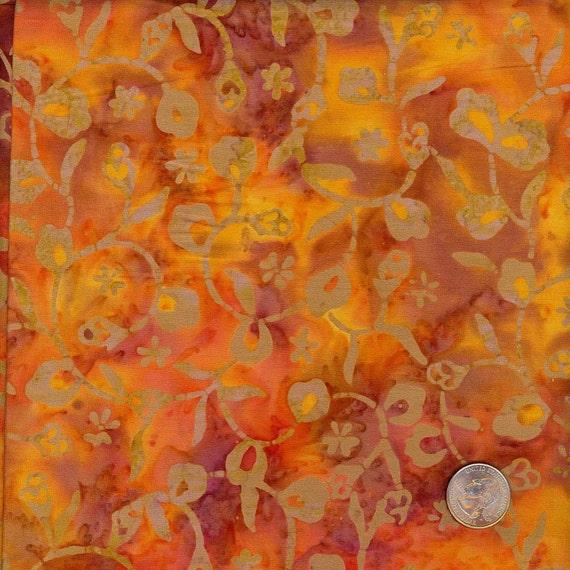 Custom Order for Rachel -Princess Mirah Designs Batik Fabric - 6 yards
