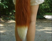 26 Inch Red Fox Tail, lon...