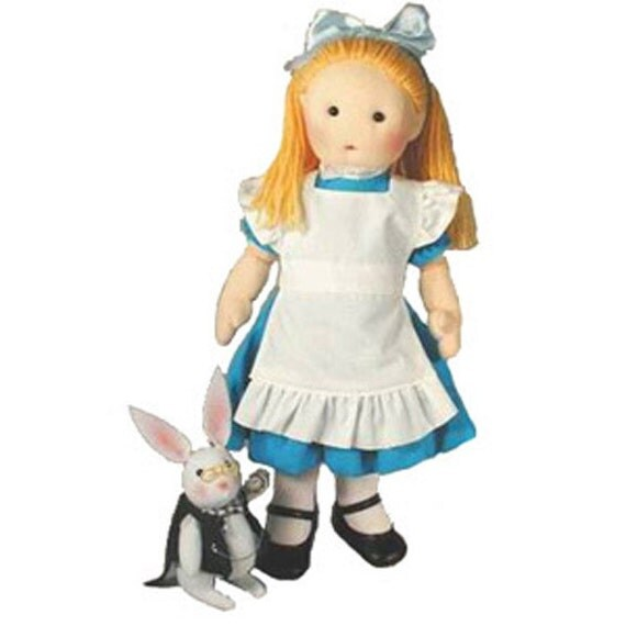 Alice In Wonderland Cloth Rag Doll Sewing By Morrisseydolls