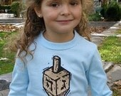 Dreiel Hanukkah Long Sleeve Shirt