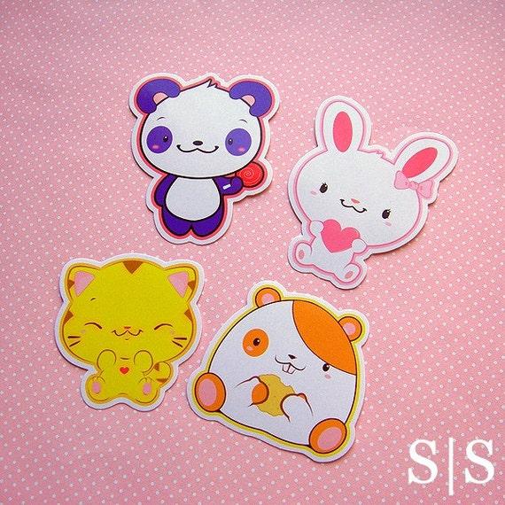CLEARANCE- Sweet Surprises Kawaii Sticker Set