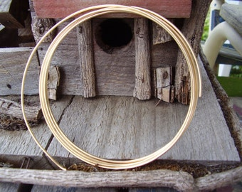 5 ft. 24 gauge silver plate wire