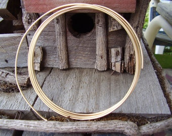12 GauGe Gold FilLed WiRe - 9 inches