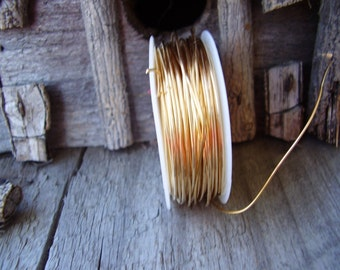 20 guage ReD BraSs wire 5 ft