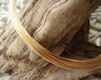 24 gauge gold filled wire -  10 feet