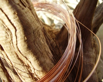 Rose Gold filled wire 18-gauge-1ft