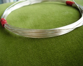 18-gauge dead soft Sterling silver wire