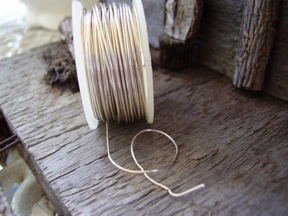 28-gauge silver plated wire