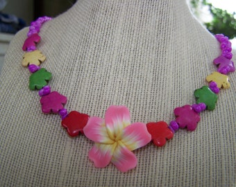 HAWIIAN VACATION--Make Everyday a Holiday 20 1/2 inch necklace