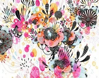 Giclee Fine Art Print - De Novo - 11x11 - Print