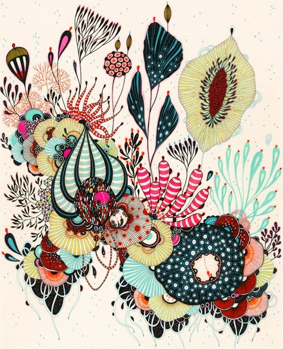 Giclee Fine Art Print - Cheer - Print