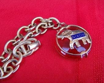 Tricky Dick Charm Bracelet