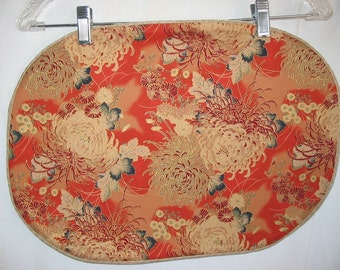 Placemats With Chrysanthemums  #6007