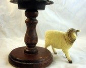 Vintage Toothbrush Holder with spinning top
