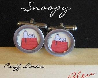 Snoopy Cuff Links