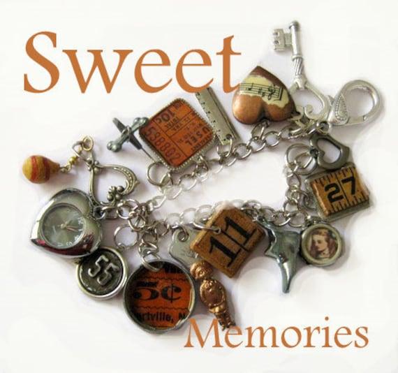 Memories Treasures  Charm Bracelet Watch