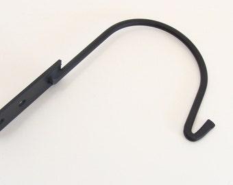 Hook, Coat Hook, Wall Hook, Storage Hook, Forged Steel Hook, Blacksmith Handmade Hook, Birdhouse Hanger, Lantern Hook, Lantern Holder,