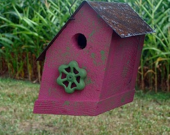 Rustic Birdhouse, Bird House
