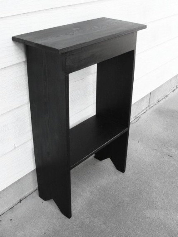 Black Entryway Table entryway table with storage console table black wood table