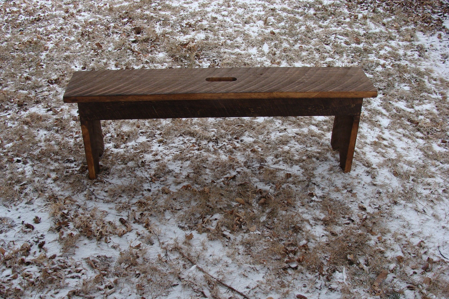 Rustic Wood Bench Entryway Bench Coffee Table By Baconsquarefarm