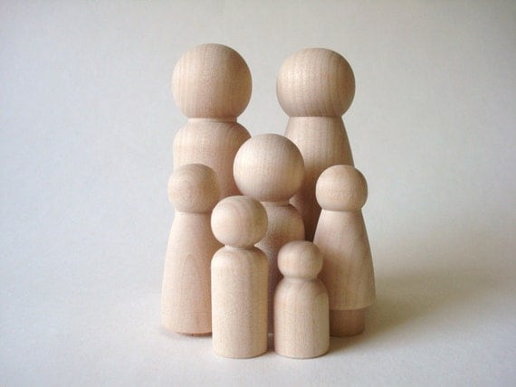 Paint Your Own -LG Wood Family 1
