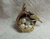 Custom Nesting -Mixed Metal Necklace for kookaburragum