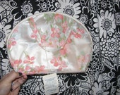 Pearlescent Vinyl Large Makeup Cosmetic Travel Bag