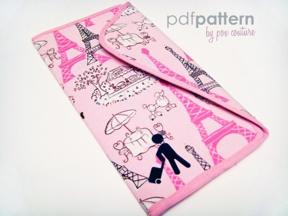 Passport and Ticket Holder PDF SEWING PATTERN