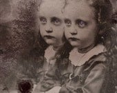Together Gothic victorian art 4 x 6  print