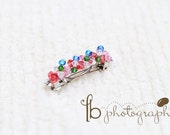M2M Burst of Spring Boutique Jeweled Barrette